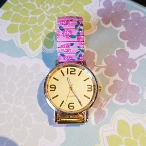 Accessories - Floral watch